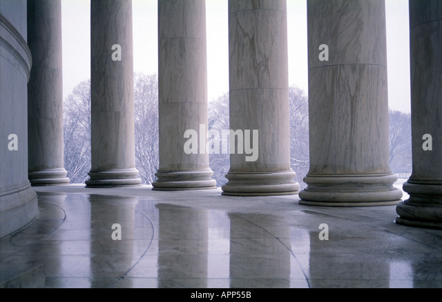 Jefferson Memorial, Washington D.C. - Stock Image