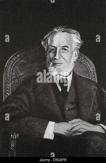 Benjamin Rothschild, philanthropist. - Stock Image