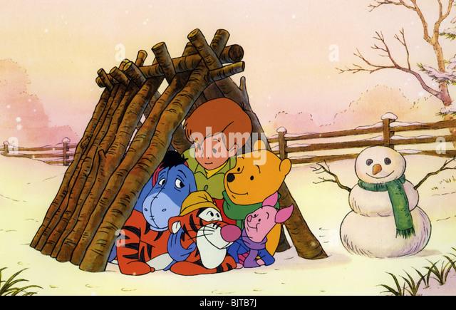 PIGLET'S BIG MOVIE - 2003 Buena Vista/Walt Disney cartoon - Stock-Bilder