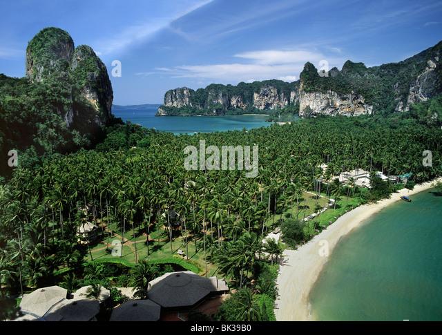 Rayavadee Resort, Krabi, Thailand, Southeast Asia, Asia - Stock Image