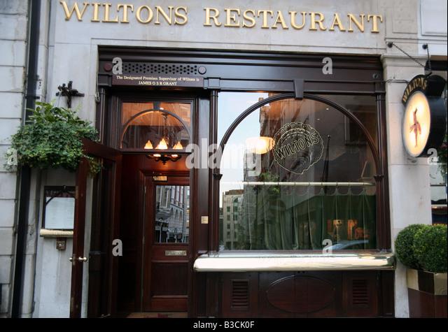 Wiltons Restaurant Jermyn Street London