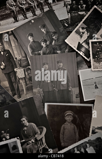 historical photos from the 1910s, 20s and 30s - Stock Image