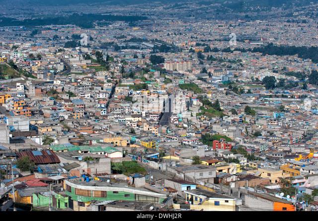 Quito - Stock Image