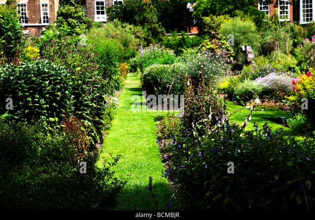 Chelsea Physic Garden London's oldest botanic garden London England UK - Stock-Bilder