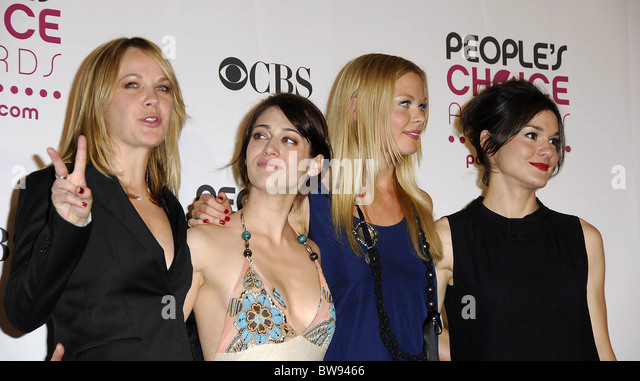 The 33rd Annual People's Choice Awards - PRESS ROOM - Stock Image