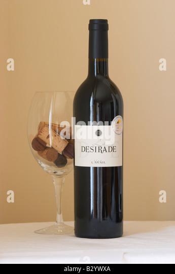 mas l'avail, la desirade. Roussillon, France - Stock Image