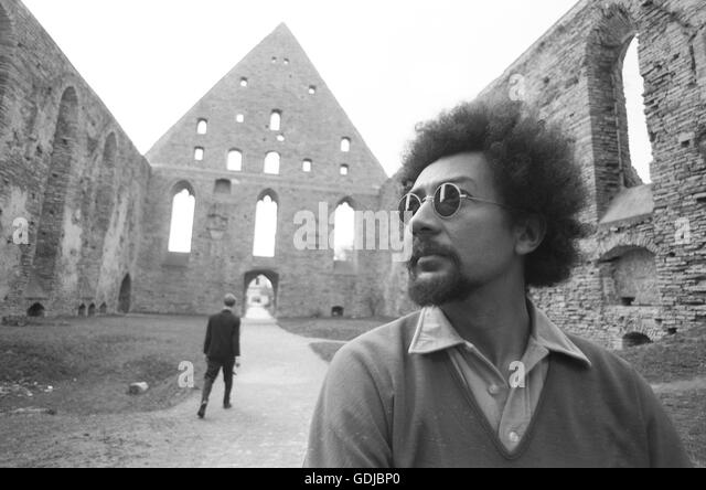 Charles Lloyd in Tallinn for the International Jazz Festival, 1967. The event was marked by controversy, and was - Stock Image
