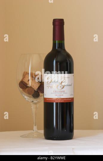 domaine pietri geraud, collioure, sine nomine. Roussillon, France - Stock Image