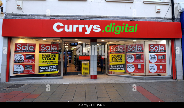 Currys Electrical Store Stock Photos Amp Currys Electrical