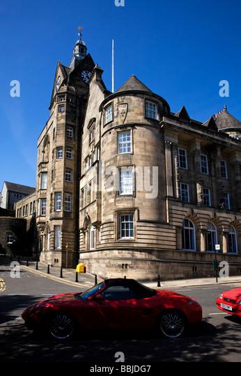 Stirling Municipal Buildings, City of Stirling, Scotland. - Stock-Bilder