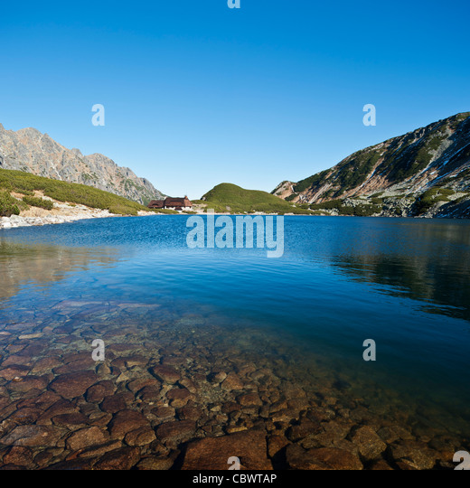 Staw stock photos staw stock images alamy for Lake front view