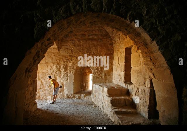 Karak castle, Karak, Jordan. - Stock-Bilder