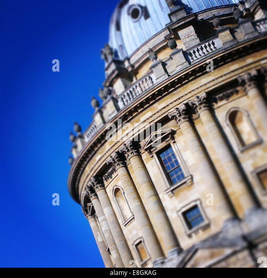 United Kingdom, England, Oxford, Radcliffe Camera - Stock Image