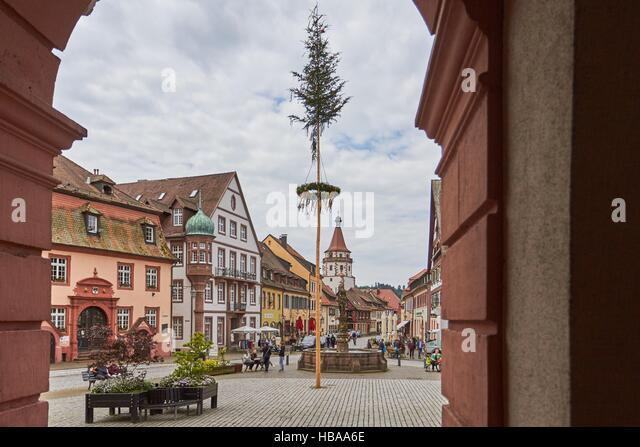 Black Forest: Gengenbach in Black Forest - Stock-Bilder