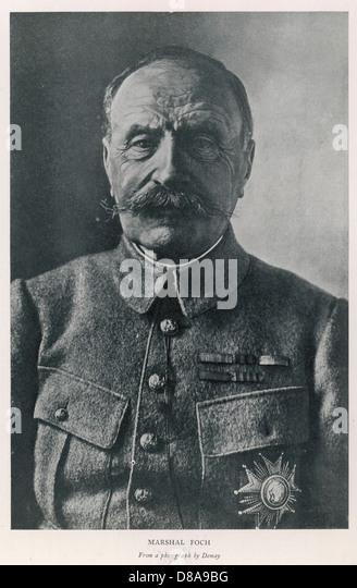 Foch  Photo - Stock Image