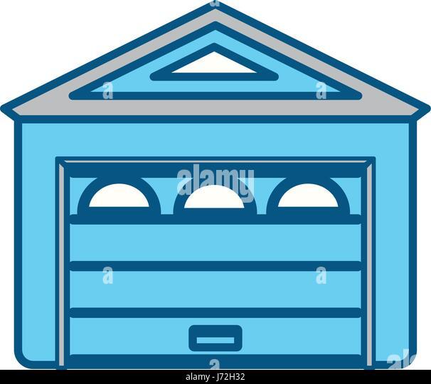 Garage Door Stock Vector Images Alamy