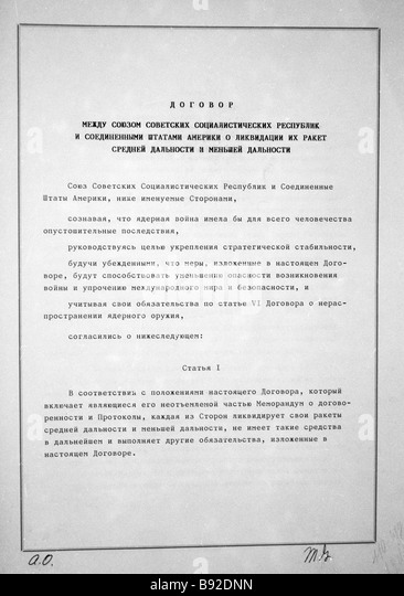 inf treaty stock photos inf treaty stock images alamy