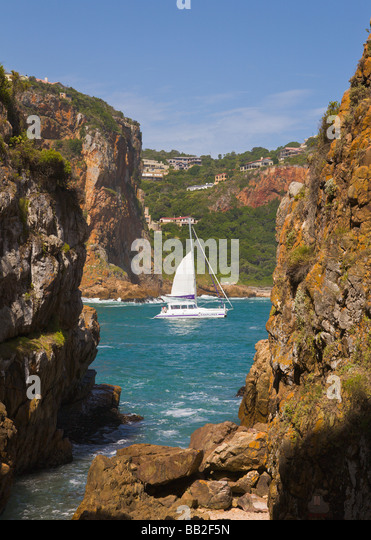 The Heads Knysna 'Western Cape' 'South Africa' - Stock Image