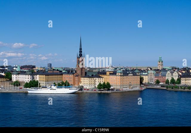 Riddarholms Church, Stockholm, Sweden, Scandinavia - Stock Image