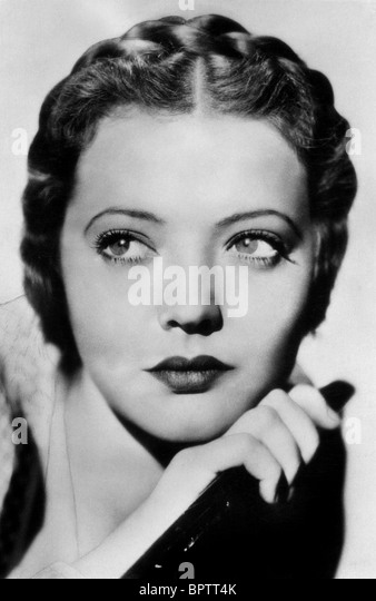 SYLVIA SIDNEY ACTRESS (1937) - Stock Image