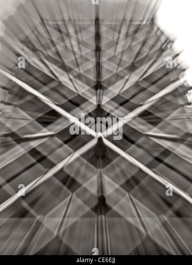 zoomed view of a London building - Stock Image