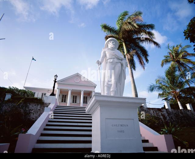 Statue of Columbus - Stock-Bilder