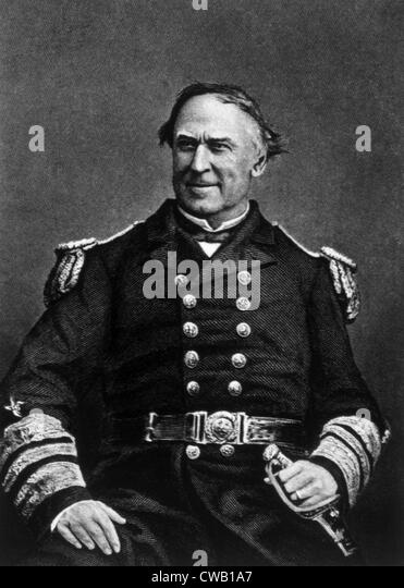 David G. Farragut (1801-1870) - Stock Image