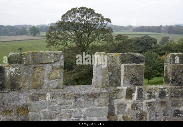 UK, England, Colridge, Halton Castle 1382, - Stock Image