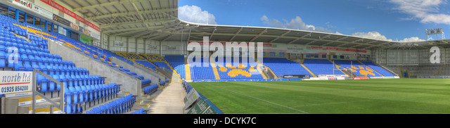 at Halliwell Jones stadium, Mike Gregory Way / Winwick Rd, Warrington, WA2 7NE - Stock Image