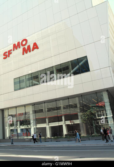 Sfmoma stock photos sfmoma stock images alamy for San francisco museum modern art