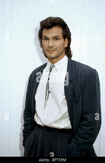PATRICK SWAYZE ACTOR (1987) - Stock Image