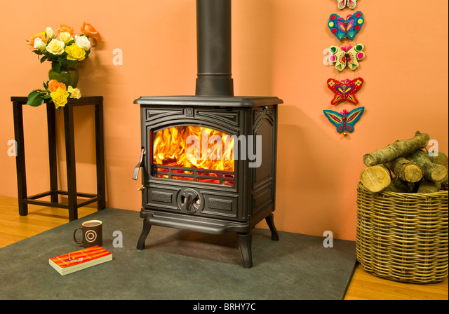 Compressed Logs For Wood Stoves ~ Wood burning stoves stock photos