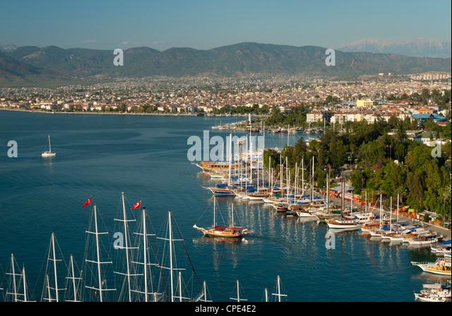 Fethiye, Aegean, Anatolia, Turkey, Asia Minor, Eurasia - Stock Image