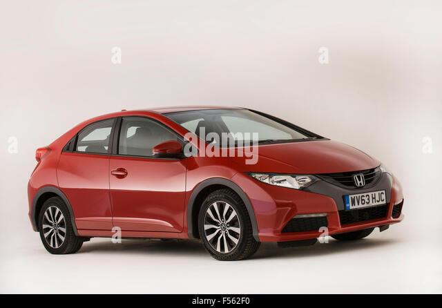 2013 Honda Civic - Stock Image