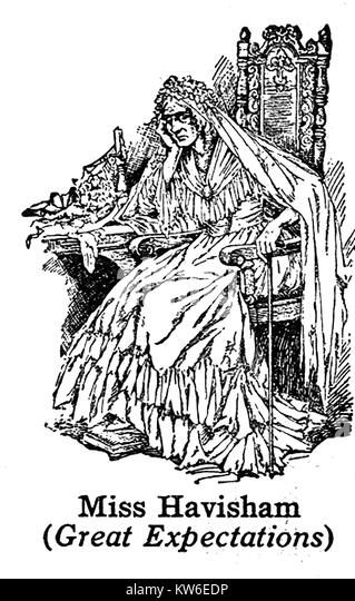 an analysis of the character of miss havisham in great expectations by charles dickens Estella havisham - from great expectations, is one of charles dickens's most destructive creations and is the ninth in the telegraph pick of the best charles dickens characters.