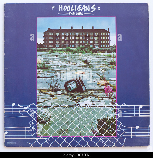 The Who - Hooligans, 1979 compilation album on MCA Records - Stock Image