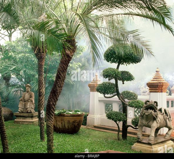 Prasat Museum Garden, Bangkok, Thailand, Southeast Asia, Asia - Stock Image