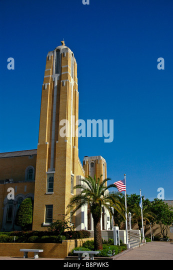 St Nicholas Greek Orthodox Church Cathedral Tarpon Springs FL - Stock Image