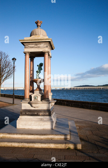 Drinking Fountain, Discovery Point, Dundee, Scotland - Stock Image