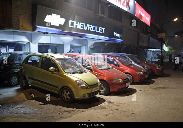 Chevrolet dealer New Delhi - Stock-Bilder