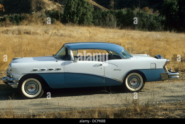 1956 BUICK CENTURY. Photo Nicky Wright - Stock Image