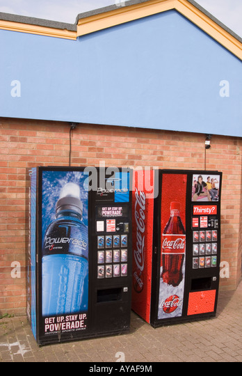 how to use soft drink machines
