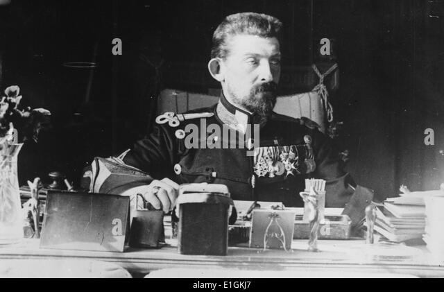 King Ferdinand I of the Romanians - Stock Image