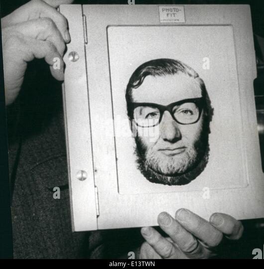 Mar. 27, 2012 - New facial identification technique launched. : A revolutionary British invention which will aid - Stock Image