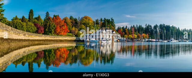 Vancouver Rowing Club, Vancouver, British Columbia, Canada - Stock Image