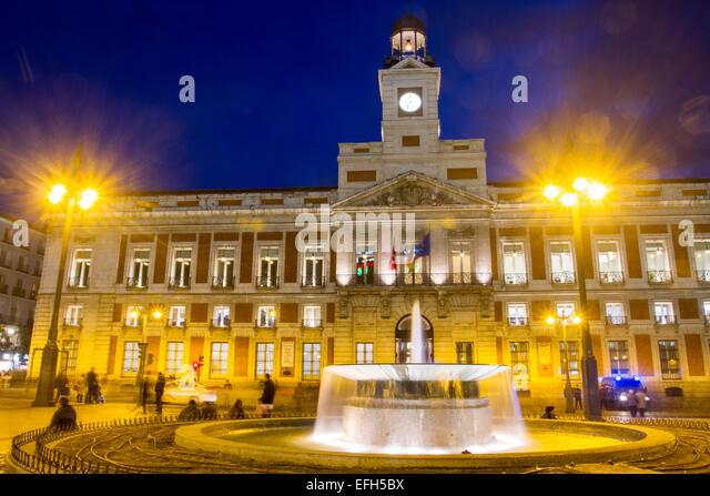 Puerta Del Sol Madrid Stock Photos Puerta Del Sol