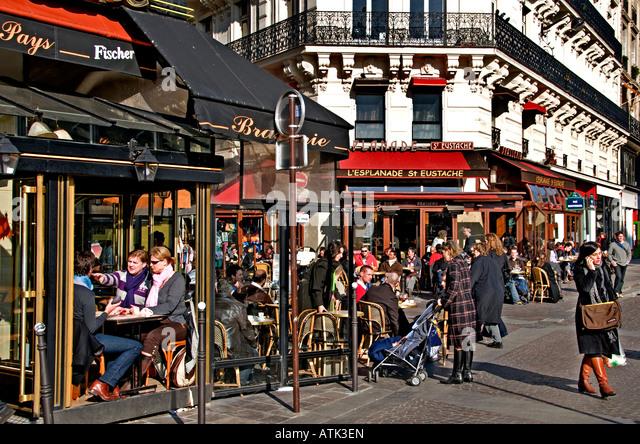Rue montorgueil stock photos rue montorgueil stock images alamy - Rue rambuteau paris ...