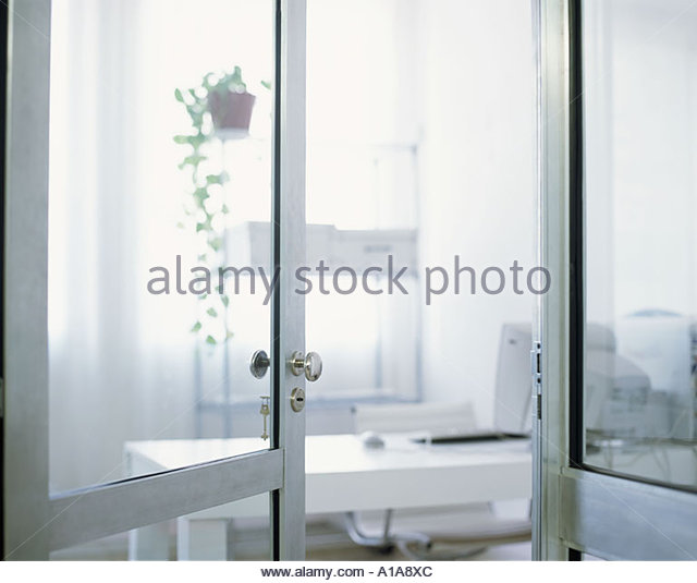An empty office - Stock Image