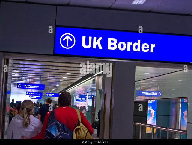 Border Control Passport Stock Photos Amp Border Control