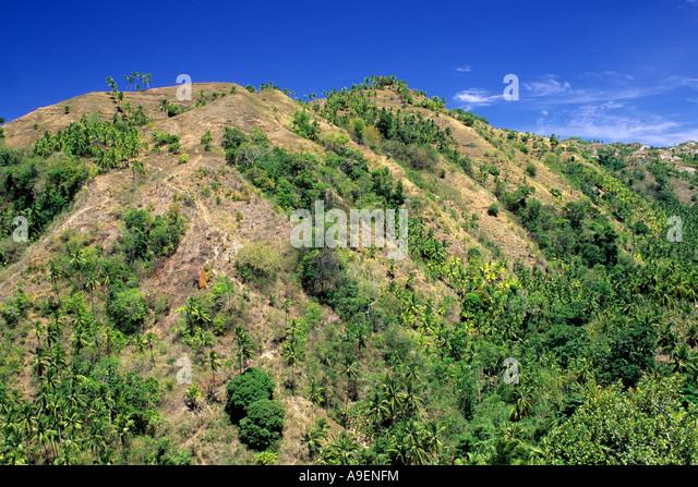 Landslide stock photos landslide stock images alamy for Soil erosion in hindi